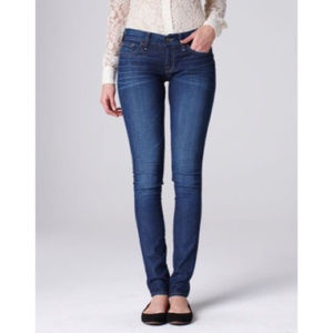 Lucky Brand Charlie Skinny Jeans Dark Wash